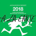 Auszeichnung 90 Punkte - A la Carte 2018