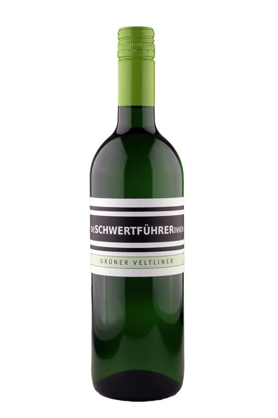Weingut Die Schwertführerinnen Flaschenfoto - Grüner Veltliner