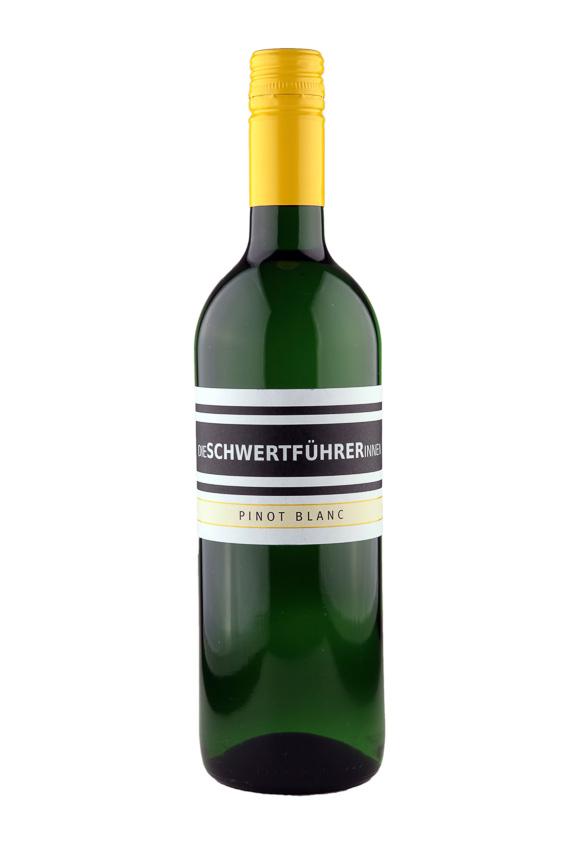Weingut Die Schwertführerinnen Flaschenfoto - Pinot Blanc