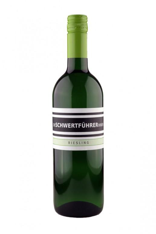 Weingut Die Schwertführerinnen Flaschenfoto - Riesling