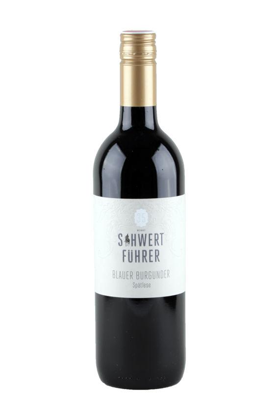 Weingut Schwertführer Flaschenfoto - Bl. Bugunder Spätlese