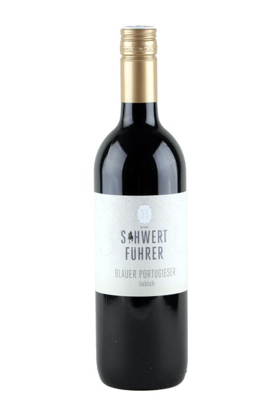 Weingut Schwertführer Flaschenfoto - Bl. Portugieser
