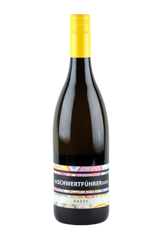 Weingut Die Schwertführerinnen Flaschenfoto - Dassy