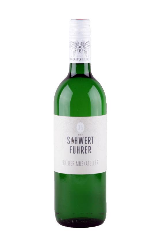 Weingut Schwertführer 35 - Flaschenfoto Gelber Muskateller