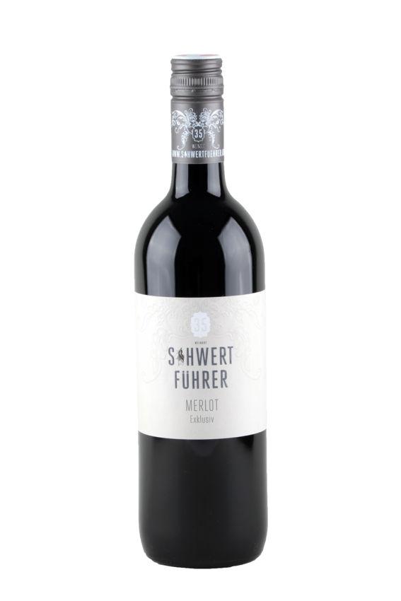 Weingut Schwertführer 35 - Flaschenfoto Merlot Exklusiv