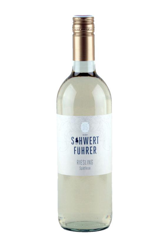 Weingut Schwertführer 35 - Flaschenfoto Riesling Spätlese