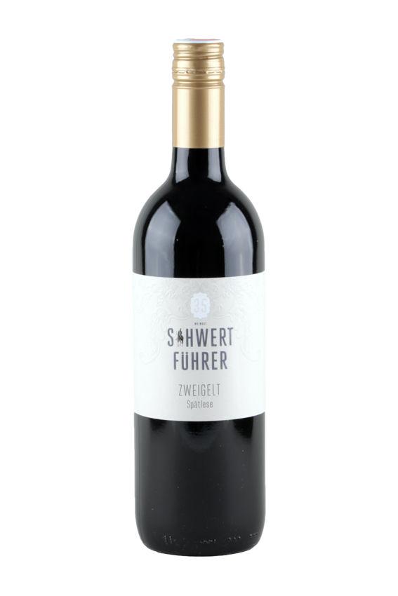 Weingut Schwertführer 35 - Flaschenfoto Zweigelt Spätlese