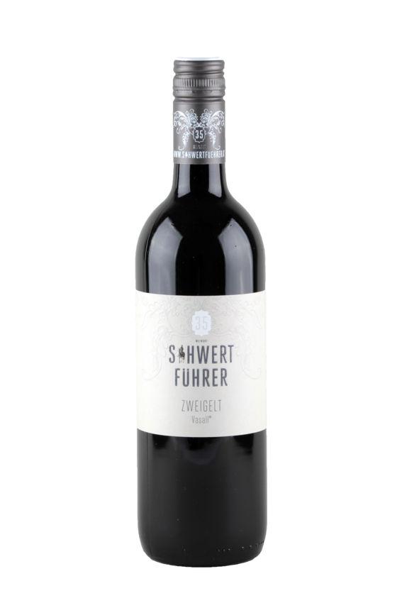 Weingut Schwertführer 35 - Flaschenfoto Zweigelt Vasall