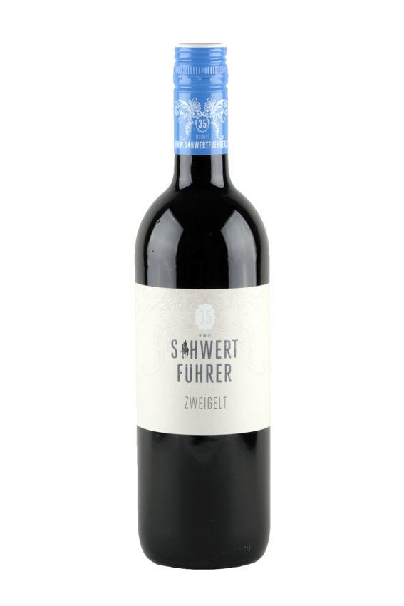 Weingut Schwertführer 35 - Flaschenfoto Zweigelt