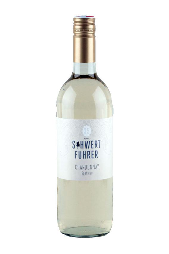 Weingut Schwertführer 35 - Flaschenfoto Chardonnay Spätlese